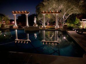 luxury landscape lighting service